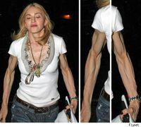 Madonna-biceps