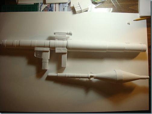 lance roquettes papier