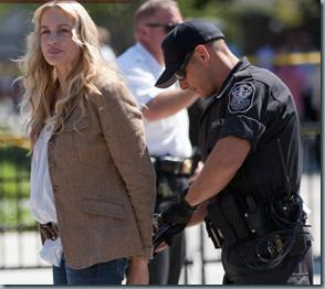 Arrestation de Darryl Hannah