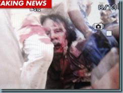 mort Kadhafi