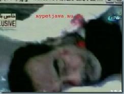 Saddam Hussein mort