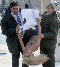 Manifestation Gazprom