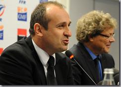 Equipe de France de rugby contre l' Italie par Philippe Saint-André