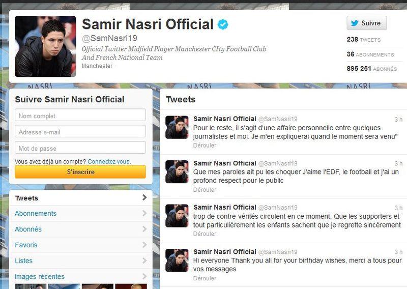 Tweet Nasri