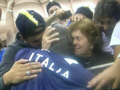 Balotelli et sa maman