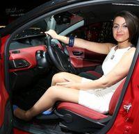Hotesse moche auto