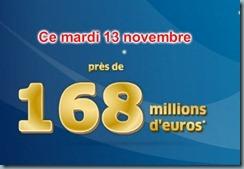 euro millions 169 millions