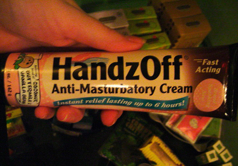 Creme anti masturbation