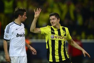 Lewandowski Dortmund Real