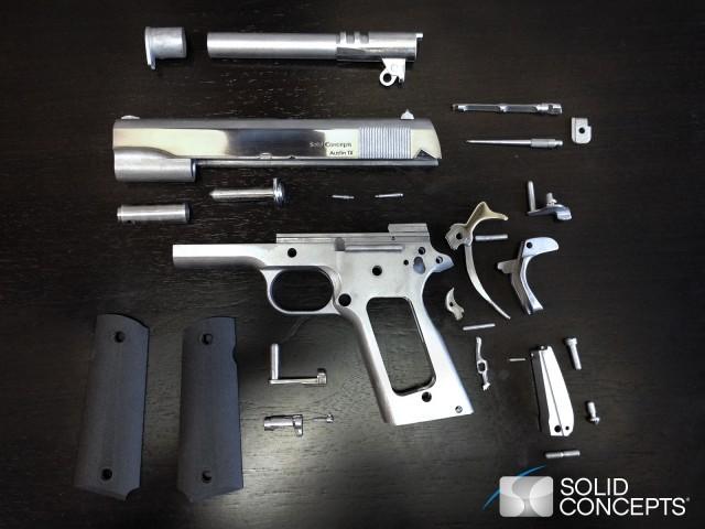 Pistolet 3D METAL