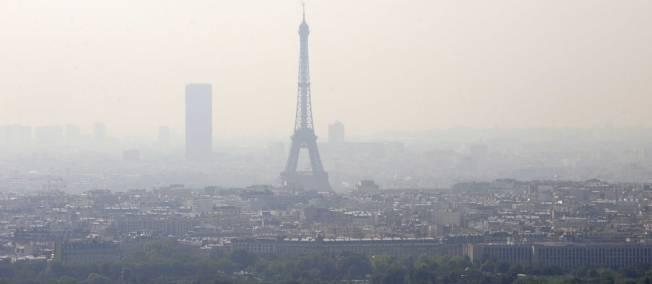 Pollution paris et circulation alternée