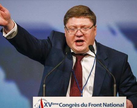 Russe au congrès du Front National