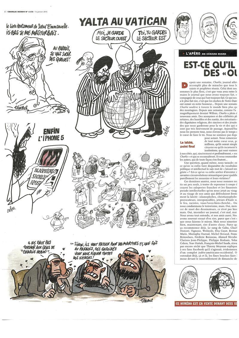 Charlie Hebdo Tout est pardonné (16)