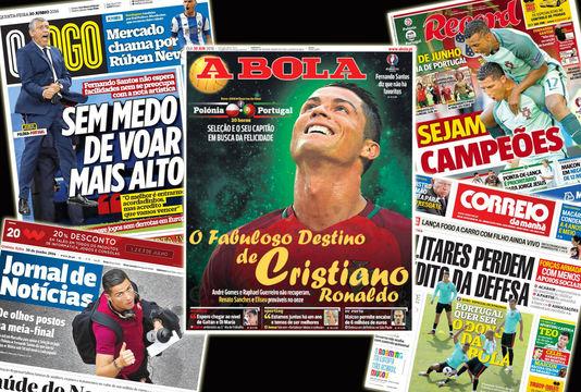 C ronaldo contre la Pologne