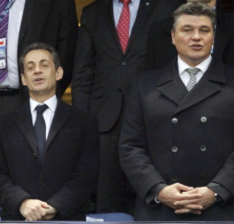 Sarkozy et douillet