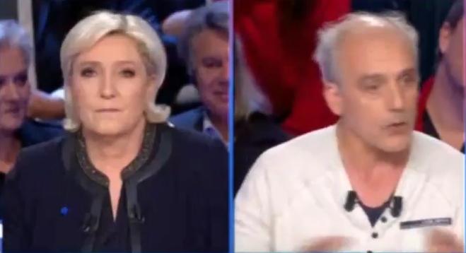 Poutou défonce Le Pen