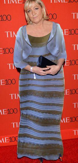 Le pen en robe