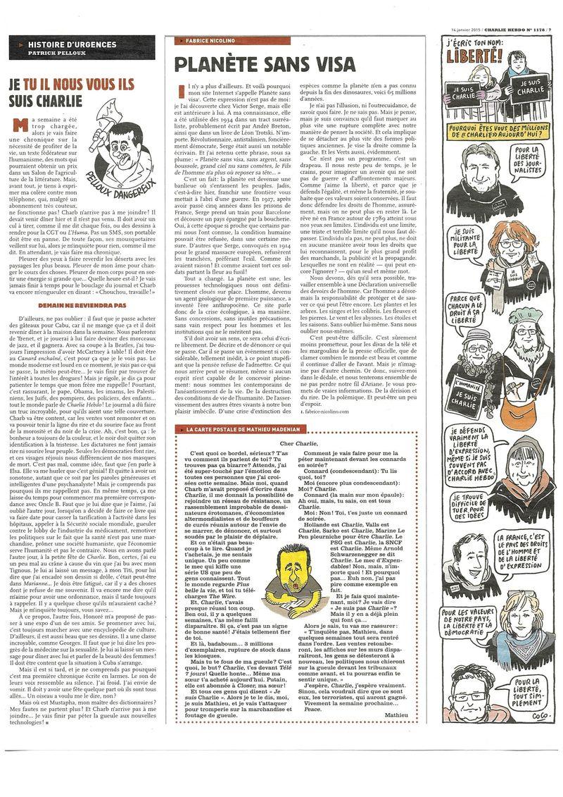 Charlie Hebdo Tout est pardonné (11)