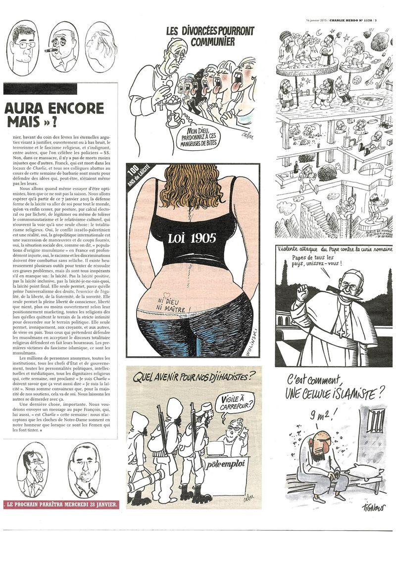 Charlie Hebdo Tout est pardonné (15)