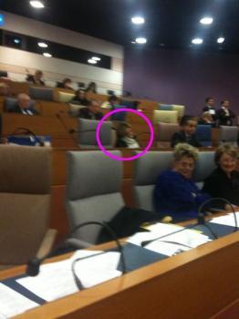Valérie pécresse dort au conseil régional