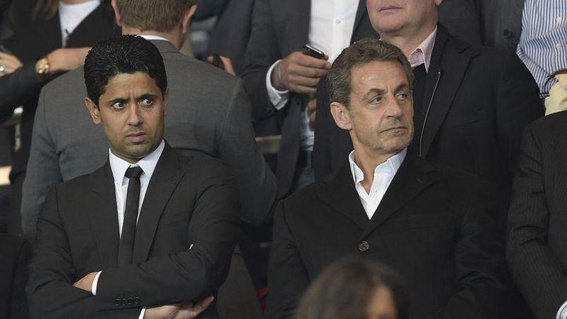 Sarkozy responsable psg