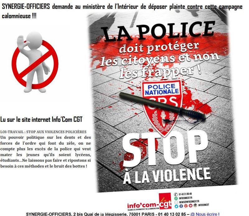 Cgt contre police