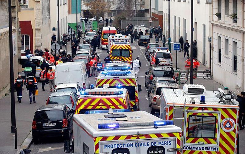Ambulances charlie hebdo