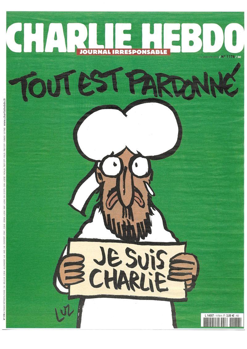 Charlie Hebdo Tout est pardonné (1)