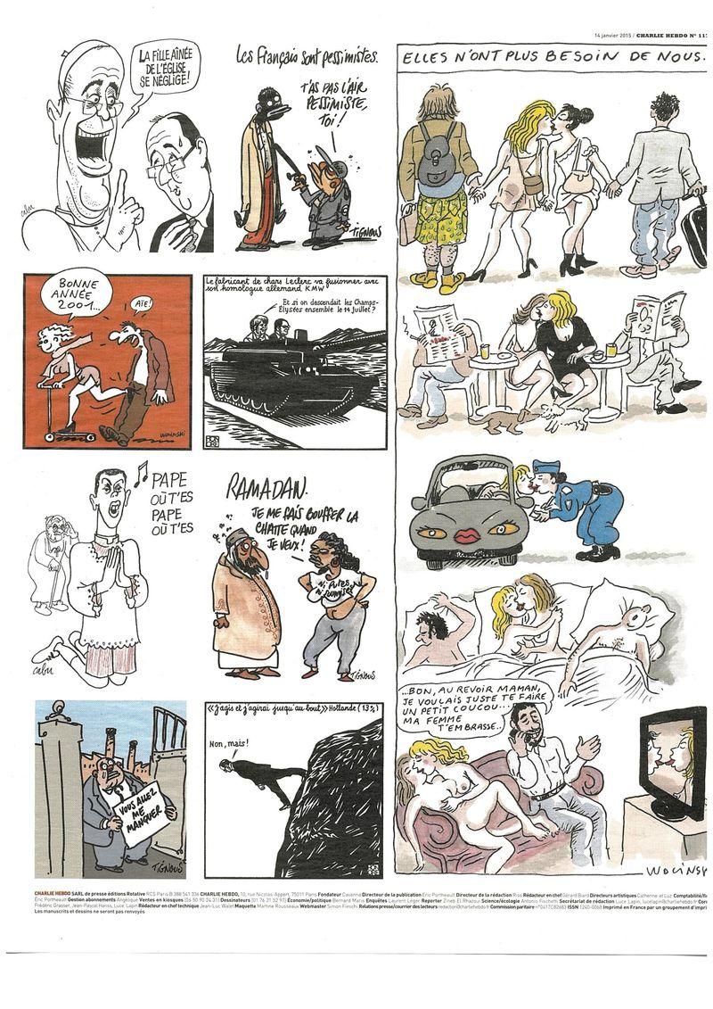Charlie Hebdo Tout est pardonné (3)