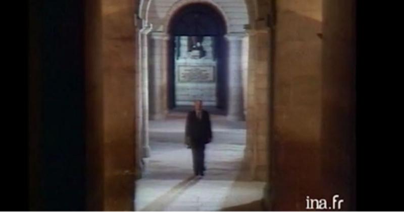 Mitterrand Panthéon comme Macron