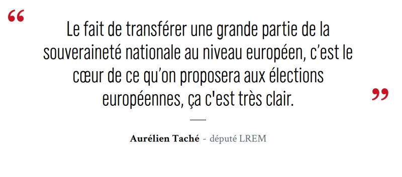 Macron fin de la france