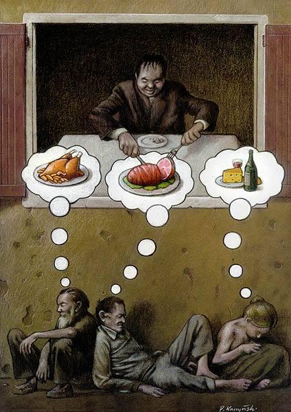 Le-monde-ne-tourne-plus-rond-des-illustrations-satiriques-poignantes-denoncent-les-horreurs-de-notre-societe13