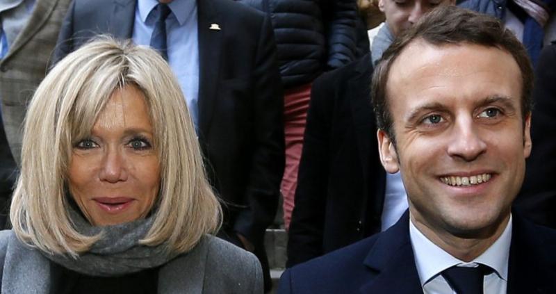 Macron et sa femme