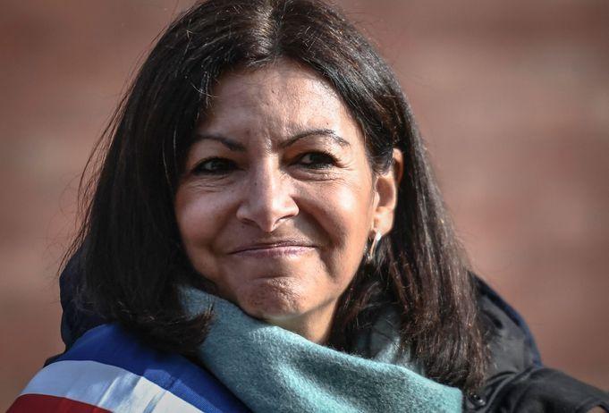 Anne hidalgo candidate 2022