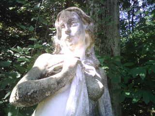 cecilia sarkozy statue